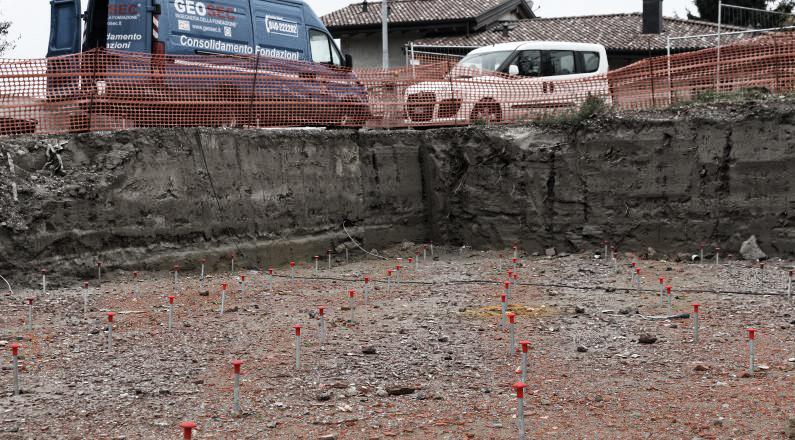 Liquefazione dei terreni metodologia brevettata for Consolidare un terreno