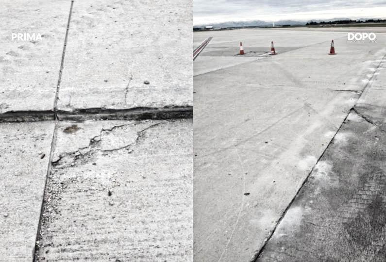 consolidamento pavimentazione aeroportuale geosec 11