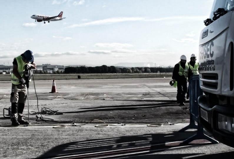 consolidamento pavimentazione aeroportuale geosec 12