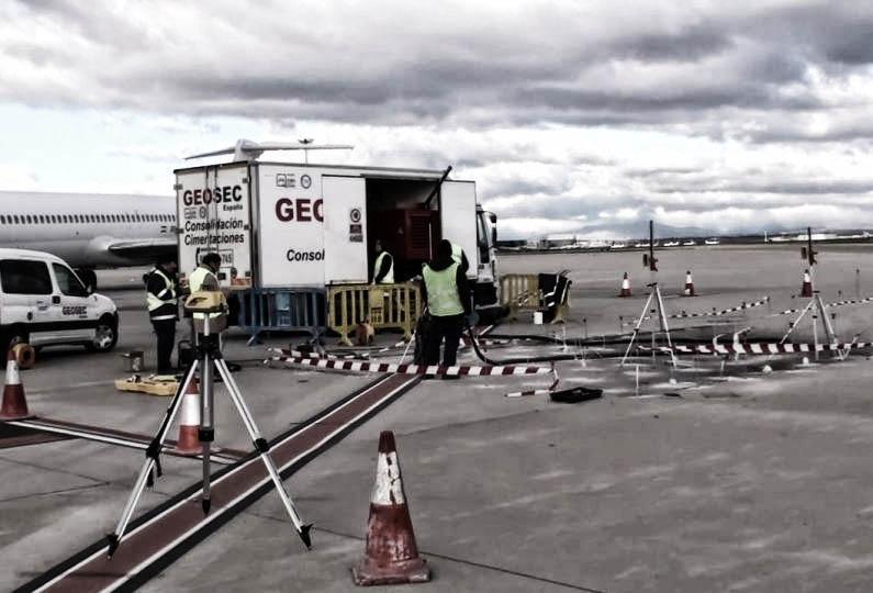 consolidamento pavimentazione aeroportuale geosec 13