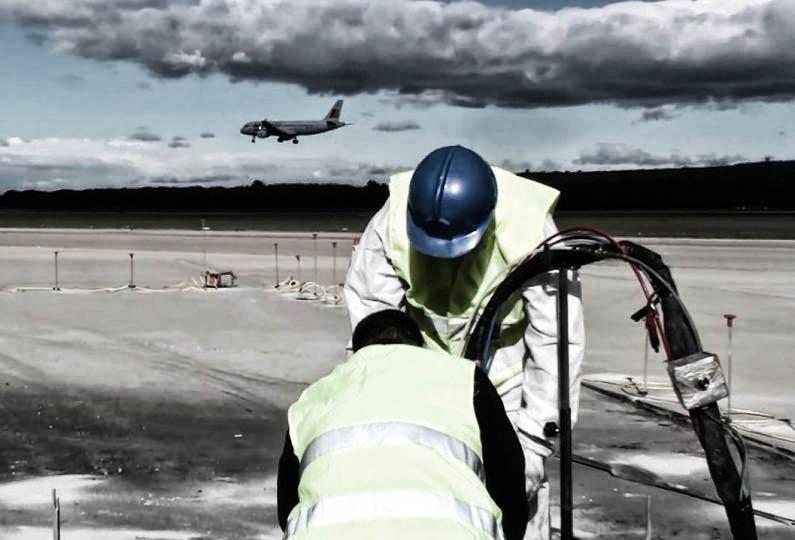 consolidamento pavimentazione aeroportuale geosec 14