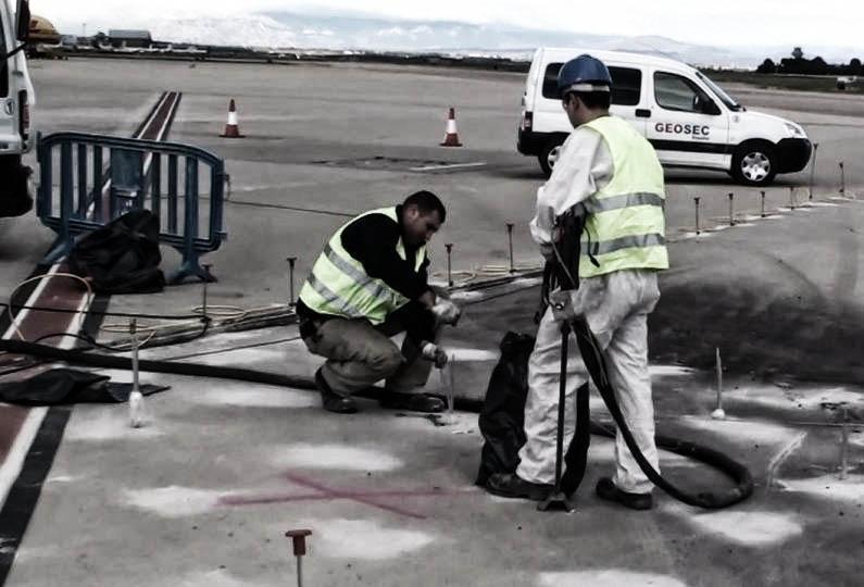 consolidamento pavimentazione aeroportuale geosec 15