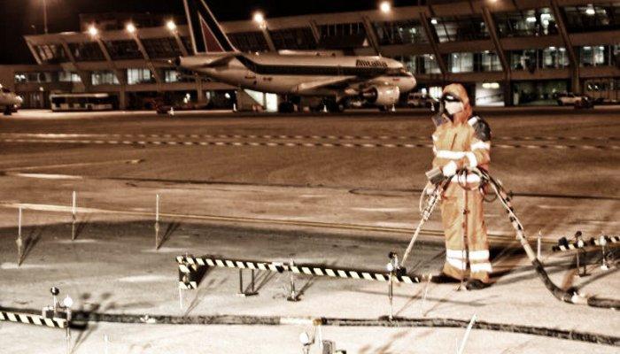 consolidamento pavimentazione aeroportuale geosec 4
